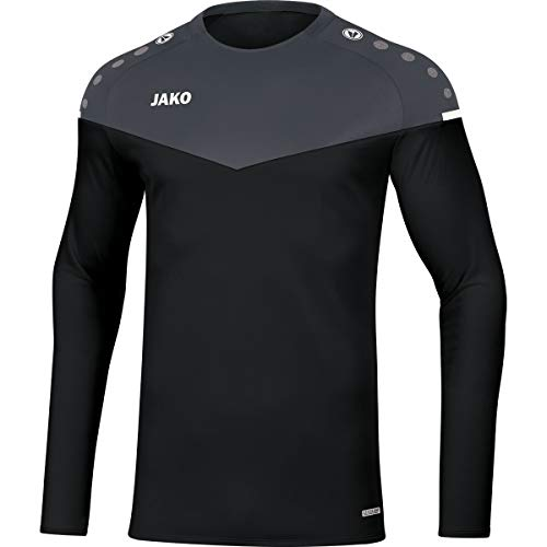 JAKO Herren Champ 2.0 Sweat, schwarz/anthrazit, XL