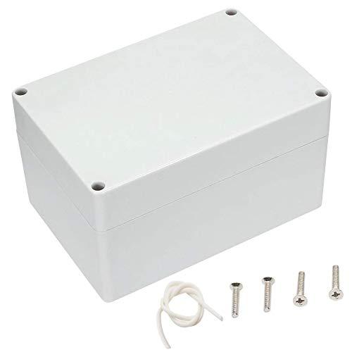 Uotyle IP65 ABS Plastik Anschlussdose elektronische Gehäuse Box Wasserdicht Anschlußdose Schaltschränke Stromverteilung Zählerkasten Elektrisches Projektgehäuse(160mm x 110mm x 90mm)