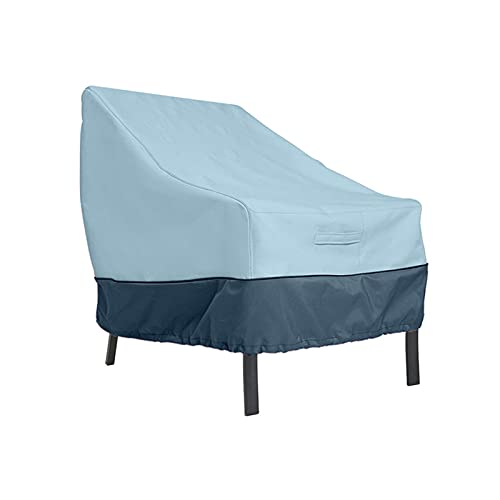 Abdeckung für Gartenmöbel, Gartenmöbel Abdeckung, Fünf Größen, Vier Farben, Schützen Ihre Möbel Wunderbar,Blue + Navy,193 * 83 * 84