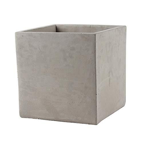 NICOLE Concrete Silicone Mold Big Size Square Handmade Concrete Flower Pot Mould