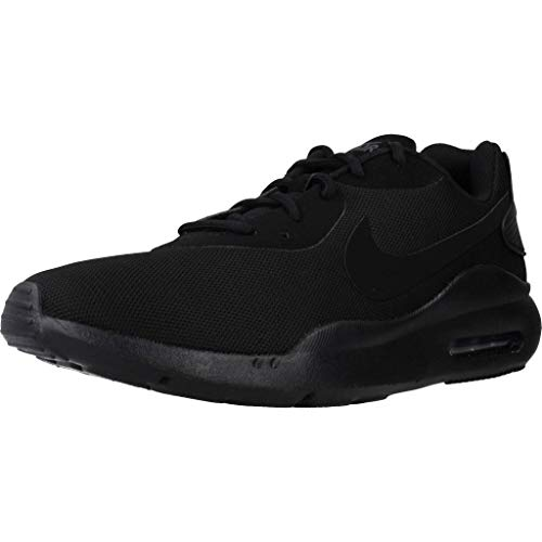 Nike Air Max Oketo Sneaker, Black/Black-Anthracite, 7 M US