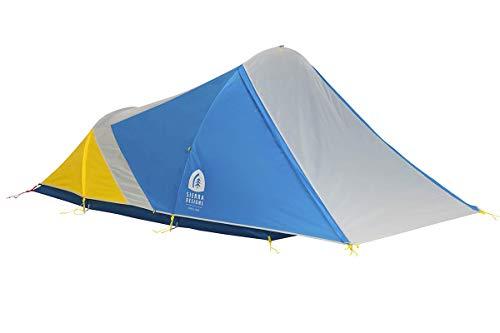 Sierra Designs Clip Flashlight 2P Tent, Light Grey/Light Blue/Yellow, 2P