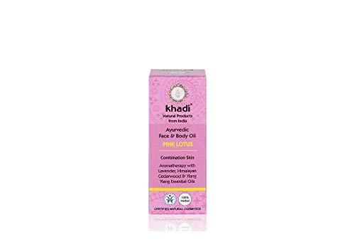 Khadi: Gesichts- und Körperöl Pink Lotus: Khadi: Groesse: Pink Lotus Öl 10 ml (10 ml)