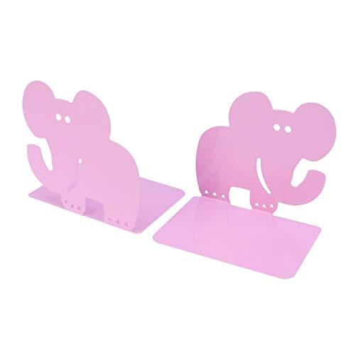 VOSAREA 1 Paar Bücherregal Elefant tragbar Cartoon Desktop Organizer Bücherständer für Zeitschriften Akten Dokumente