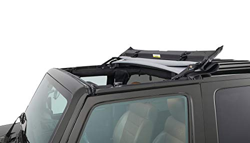 Bestop 52450-35 Black Diamond Sunrider for Hardtop for 2007-2018 2-Door and Unlimited