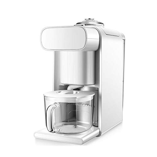 BMMMZ Unmanned Soyamilchhersteller Smart Touch Automatische Reinigung Soymilk Maschine Home Office Kaffeemaschine Blender Mixer (Color : B)