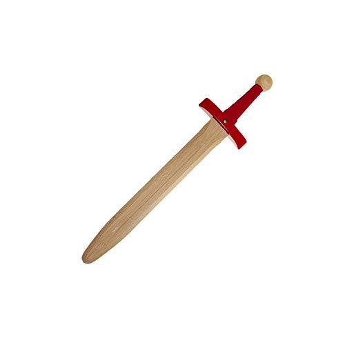 Juguetutto - Espada del Rey Arturo - Rojo - Juguete de Madera