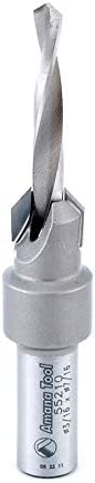 popular Amana online sale Tool - 55210 Carbide Tipped online sale 82° Countersink #10 Screw 7/16 Dia x 3/16 Drill Di outlet sale