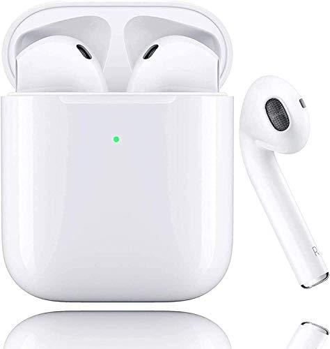 Bluetooth-Kopfhörer,Kabellose Kopfhörerr IPX7 wasserdichte,Noise-Cancelling-Kopfhörer,Geräuschisolierung,mit 24H Ladekästchen und Mikrofon für Android/Samsung/Apple AirPods Pro