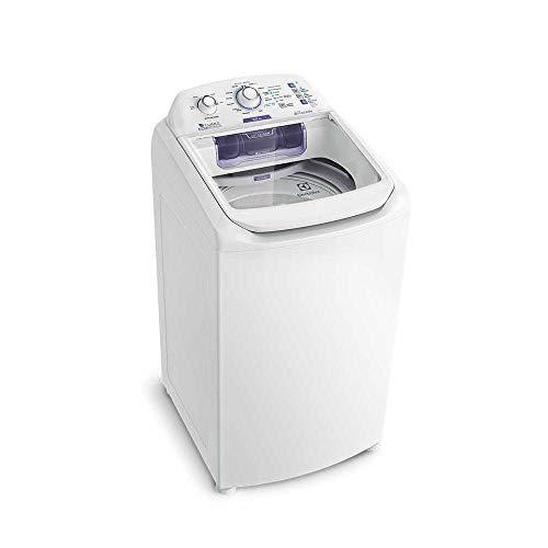 Máquina de Lavar 8,5kg Electrolux Branca Turbo Economia, Jet&Clean e Filtro Fiapos (LAC09) 220V