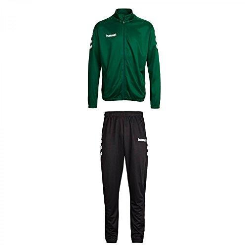 Hummel Herren Trainingsanzug Core Poly Suit 36893+32173 Evergreen XXXL
