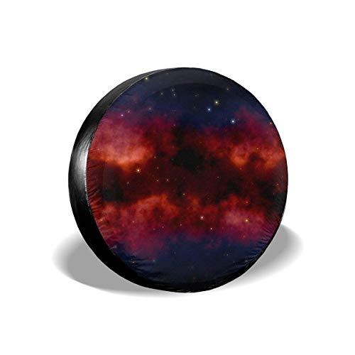 Galaxy Constellations - Funda para llanta de Repuesto para Espacio Exterior, Protectores de llanta Resistentes a la Intemperie (16 Pulgadas)