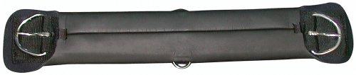 PFIFF Soft 005020 Westernsadelbälte, dubbla lager, svart 45 cm