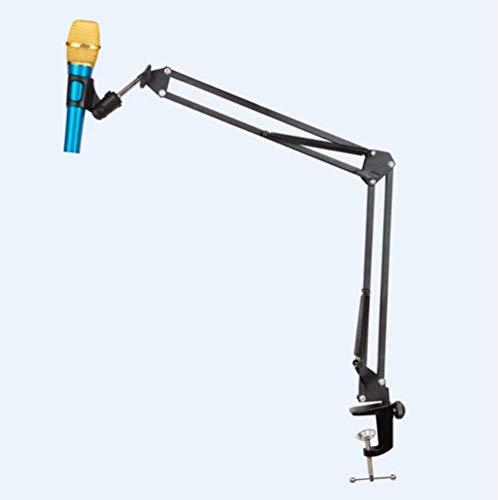Draagbare Bureau Microfoon Mic Suspension Boom Schaar Arm Stand Houder Voor Studio Rood