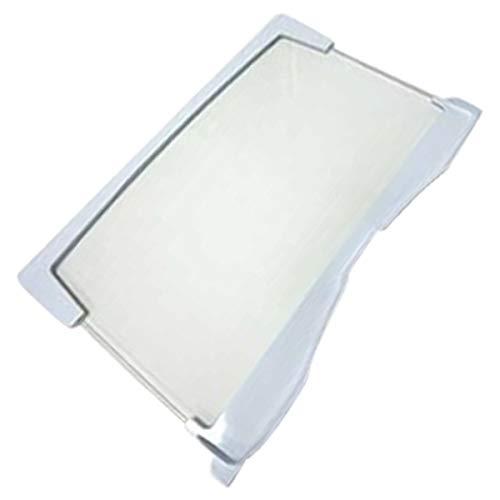 Indesit - Bandeja de cristal con borde para frigorífico Indesit