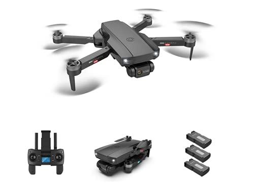 MOZUN Drone Hj188 Fpv, Motore Brushless Con Fotocamera Professionale Doppia Fotocamera 6K, 22 Minuti (Tre Batterie) Drone Volante Ultra Lungo A Quattro Assi, Ritorno Di Una Chiave, Follow Intelligente