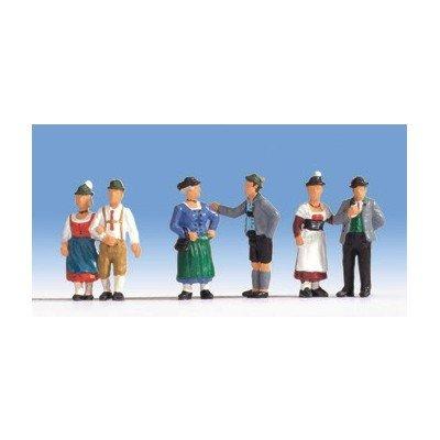 15578 - NOCH - Menschen in Tracht, 6 Figuren