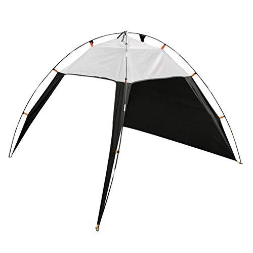 HNXCBH Tragbare Strand Überdachung-Zelt Sonnenschutz Shelter Outdoor-Camping-Zelt Dreieck Sofortige wasserdichte Sonnenschutz mit Seitenwand Sonnensegel Rechteckig (Color : Gray)