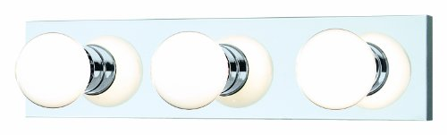 Thomas Lighting sl74134 vanidad lámpara de baño, chapado en cromo