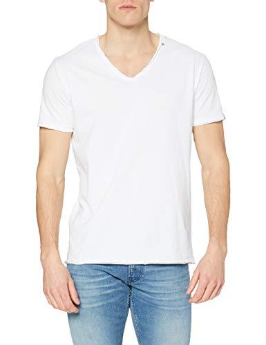 REPLAY T-Shirt V-Neck Camiseta para Hombre