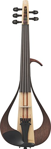 Yamaha Electric Violin-YEV105NT-Natural-5 String, Natural (YEV105NT)