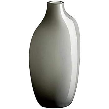 KINTO (キントー) フラワーベース グレー W70×D55×H150mm SACCO (サッコ) ガラス03 26058