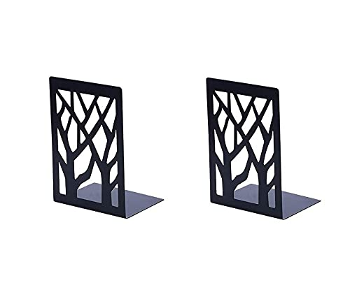 Book Ends Universal Premium Bookends for Shelves, Non-SkidBookend, Heavy Duty Metal Book End,...