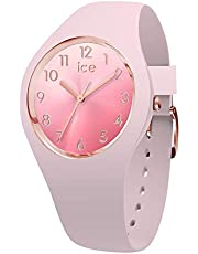 Ice-Watch - Ice Sunset Pink - Orologio da Donna con Cinturino in Silicone - 015742, Small, Rosa