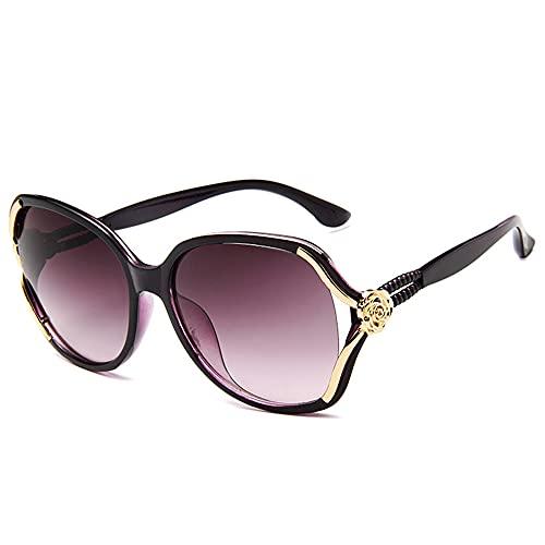 Gafas de Sol para Mujer Gafas de Sol con Reflejos de Bloque de Moda Gafas de Sol para Mujer Gafas de Seguridad de diseño Simple