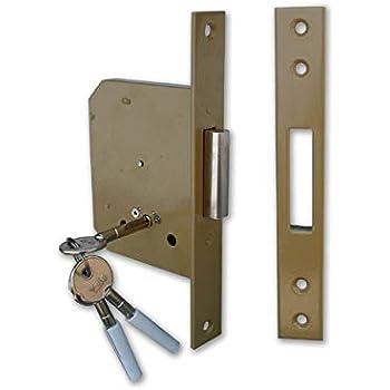 Cerradura de ponerse para puerta madera 56320 frontal de 23 mm ...