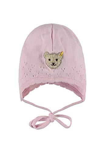 Steiff Baby-Mädchen Strick Mütze, Rosa (Barely Pink 2560), 41