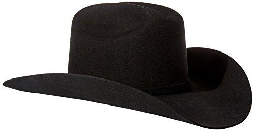 Stetson Men's 3X Oakridge Wool Cowboy Hat Black 7 1/4 [Apparel]