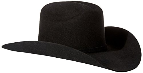 Stetson Men's 3X Oakridge Wool Cowboy Hat Black 6 3/4
