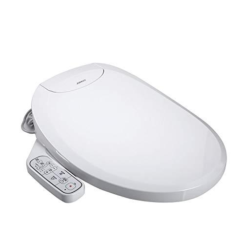 BTSSA Bidé eléctrico Digital Inteligente WC Asiento para la higiene íntima y Boquilla Doble de autolimpieza Secador de Aire Caliente
