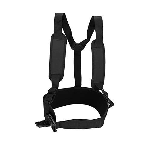 Seesii Adjustable 18ft/24ft Telescoping Pressure Washer Spray Extended Wand Belt Two-Shoulder Harness