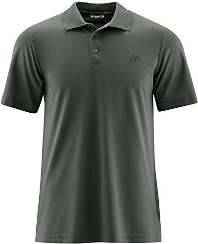 Maier Sports Ulrich Polo Homme, Kombu Green Modèle XXL 2020 T-Shirt Manches Courtes