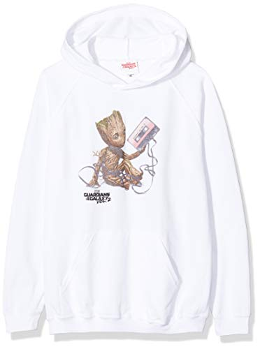 Grey Sports Grey SpGry Marvel Boys Guardians of The Galaxy Vol 2 Groot Todays Mood Hoodie 12-13 Years Size:12-13Y