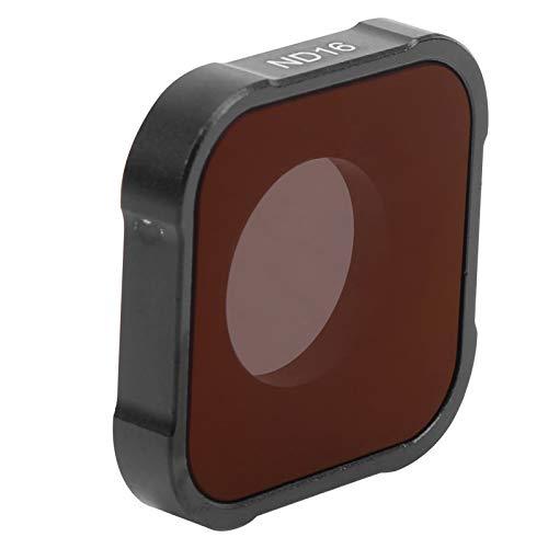 Action Kamera ND Filter, wasserdichter Neutralfilter ND16 Optisches Glasfilter Objektiv Zubehör für GOPRO Hero 9