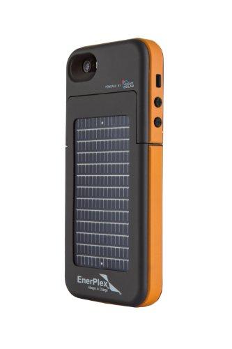 EnerPlex Surfr - Tapa Trasera con Cargador Solar de Emergencia para iPhone...