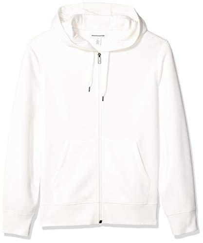 Amazon Essentials - Sudadera con capucha - para mujer blanco Off White L