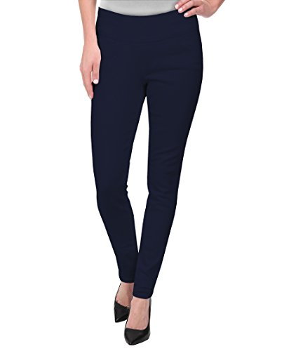 Hybrid & Company Super Comfy Stretch Pull On Millenium Pants KP44972 Navy XLarge