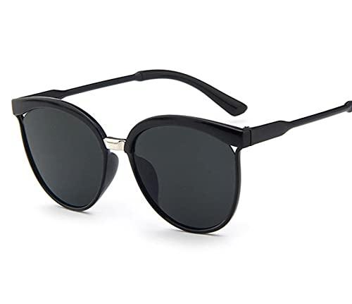 WANGZX Gafas De Sol De Ojo De Gato Gafas De Sol De Moda para Mujer Gafas De Sol Atractivas Uv400 Gafas De Mujer C1Black