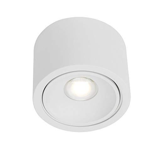 AEG LECA LED Deckenleuchte Ø 12,8 cm Weiß 1-Flammig