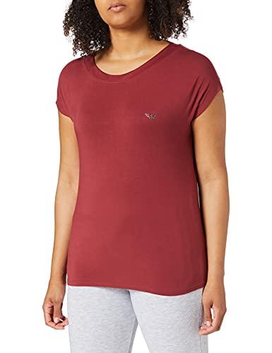 Emporio Armani 164439 1p289 05573 Camiseta, Granada de Pomelo, L para Mujer