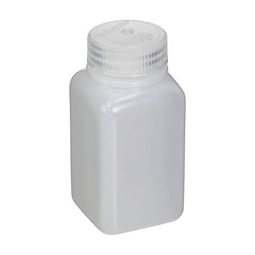 Nalgene Weithals Quader Flasche, Weiß, 60ml