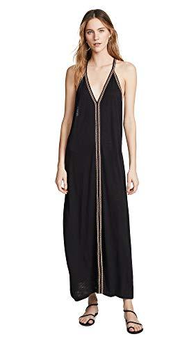 Pitusa Women's Pima Sundress, Black, One Size