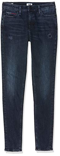 Tommy Jeans Damen MID RISE SKINNY NORA HKDK Straight Jeans, Blau (Denim 1bj), W26/L32