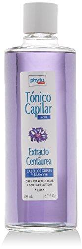 Luxana Phyto Nature Tónico Azul Cabellos Grises y Blancos Tratamiento Capilar - 500 ml