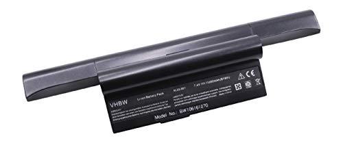 vhbw Batterie LI-ION 11000mAh 7.4V Noir Compatible pour ASUS EEE PC 901/904 / 904HA / 904hd / 1000 / 1000H / 1000HA / 1000HD / 1000HE/ 1000HA etc.