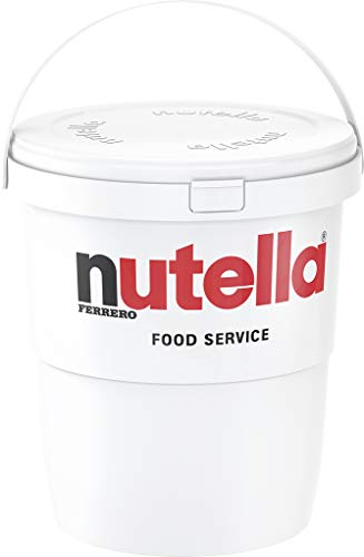 Ferrero Nutella Chocolate Hazelnut Spread  6.6 Lbs (3kg) Tub [The Original Authentic Import from Italy]
